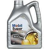 Mobil Super 3000 F1 5W-40 Synthetic Motor Oil (4 L)