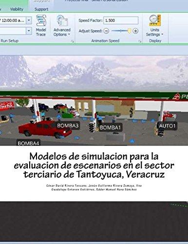 Modelos de simulacion para la evaluacion de escenarios en el sector terciario de Tantoyuca, Veracruz por Cesar David Rivera Toscano
