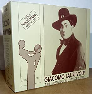 GIACOMO LAURI VOLPI: COMPLETE STUDIO RECORDINGS (DISCOGRAPHY ARICCIA AWARD 1992)- 5CD BOX SET - TIMACLUB