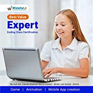 WhiteHat Jr 2 Class Expert Coding Course for Kids Age 6-18(Email delivery in 2 hours)