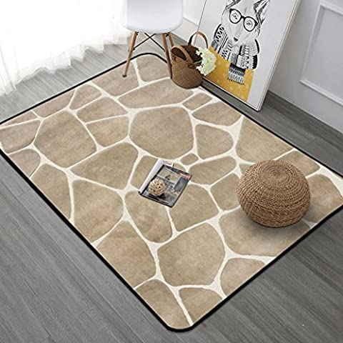Longshien carpet Carpet Nordic Living Room European Simple Modern Bedroom Full House Coffee Table Sofa Room Bedside Bed Square Rectangle Door mats ( Color : B , Size : 190cmX240cm