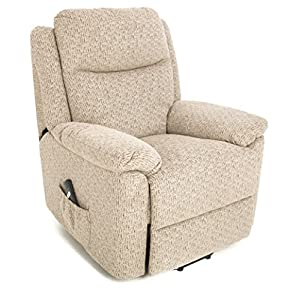 GFA The Oxford - Riser Recliner/Lift and Tilt Chair in choice of fabric colours (beige)