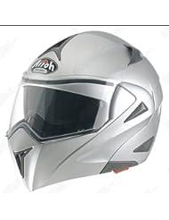 Airoh Miro XR Color–Casco, plata metalica, L (59/60)