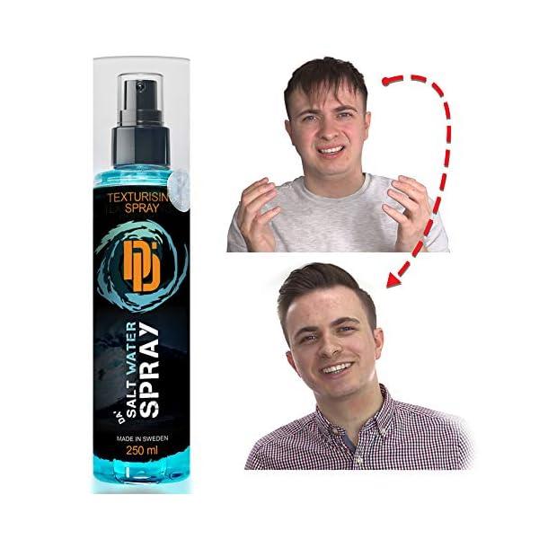 Da Dude Da Salt Water Spray Activador De Rizos ¡ Modo rivoluzionario para aumentar tus Rizos perfectos, Volumen o…