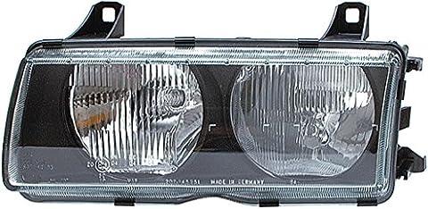 HELLA 1AJ 007 143-091 Halogen Headlight, Left, Without bend lighting,