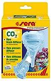 sera 08056 flore CO2 Druck-Diffusor mit integriertem Blasenzähler - maximale CO2-Lösung im edlen Design - für eine CO2 Anlage bis 300 Liter (passend an alle CO2 Anlagen)