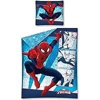 Marvel Set de Funda de Edredón Colcha Infantil de Spider-Man 200x140 DEKB106216