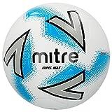 Official Mitre Impel Max Hyperseam Calcio Bianco Pallone da Calcio - Bianco, Taglia 5