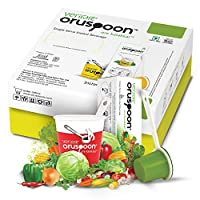 Oruspoon Instant Soups (Mixed Vegetables Soup, 60 Spoon Pack)