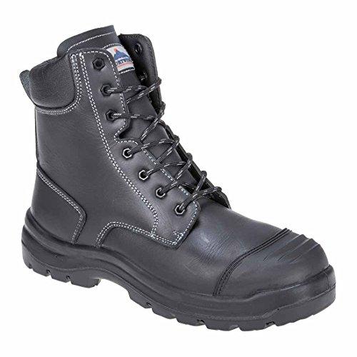 Chaussures de sécurité FD15BKR45Eden S3 HRO CI HI FO SRC de Portwest, normal, taille: 45, noir noir