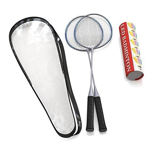 Premium calidad Juego de raquetas de bádminton