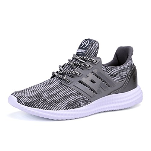 Men's High Quality Mesh Breathable Running Shoes 16048 gray