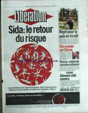 LIBERATION [No 6035] du 11/10/2000 - SID...
