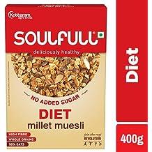 Soulfull Millet Museli Diet - No Added Sugar, 400g