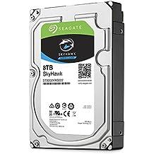 Seagate SkyHawk 8 TB, ST8000VX0022, disque dur interne, 8,9 cm (3,5 Zoll), 256 MB Cache, SATA 6 Gb/s