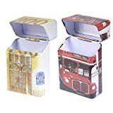#5: Cicero Pack-it Cigarette Pack Holders Combo Pack Of Euro 200 & London-Bus