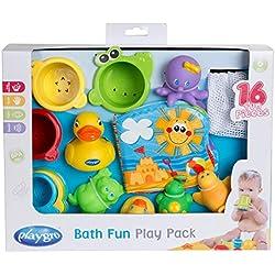 Playgro Badespielzeug Geschenkset, 16-teilig