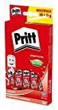 Pritt 1445027 Lot de 10 Bâtons de colle 11 g