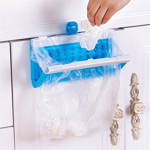 CanVivi Küche Müllsackhalter Tür Abfall Beutel Halterung hängende Mülleimer Behälter