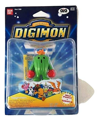 GIG Digimon BANDAI Figure Togemon Mini Poster + ADESIVE 10CM