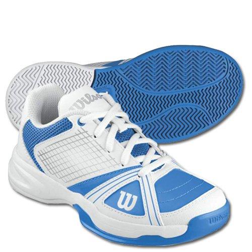 Wilson Kinder Tennisschuhe RUSH NGX JR blau / weiß Gr. 2