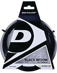Dunlop Black Widow 16G Set 1Pc - Cordaje de raqueta de tenis (juego de cuerdas
