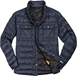 BOSS Orange Herren Jacke Jack modisches Langarmoberteil Uni & Uninah, Größe: 48, Farbe: Blau
