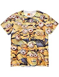 Minions Despicable Me Chicos Camiseta manga corta 2016 Collection - Amarillo