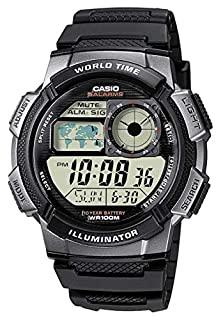 Casio Collection Men's Watch AE-1000W-1BVEF (B0039UT5KE) | Amazon price tracker / tracking, Amazon price history charts, Amazon price watches, Amazon price drop alerts