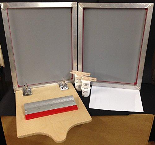 SIEBDRUCK-Set Hobby Starter Kit A2komplett-Set (Silkscreen-drucken)
