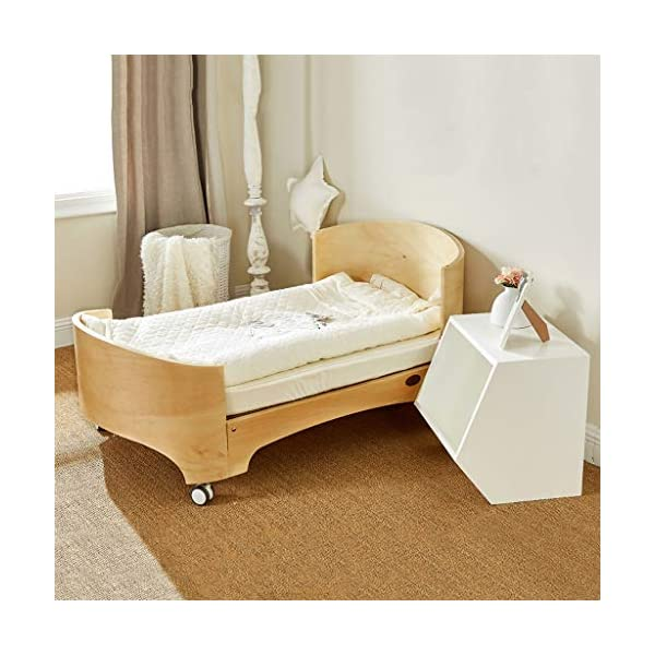 DUWEN-Cot bed Solid Wood Multifunction European Baby Cot Toddler Bed Game Bed Sofa Bed DUWEN-Cot bed 1. Simple and exquisite crib not only allows the baby to have a better sleep experience, but also cultivates the baby's independent consciousness and exercises the baby's hand and foot coordination ability, which is the best gift for the baby. 2. The crib is made of environmentally friendly pine wood, which is sturdy and durable, not easy to crack and deform, and has a carrying capacity of more than 80KG, so that the baby has a healthy sleep. 3. The crib is safe, environmentally friendly, non-irritating and harmless to the baby. It is the best choice for the mother. 3