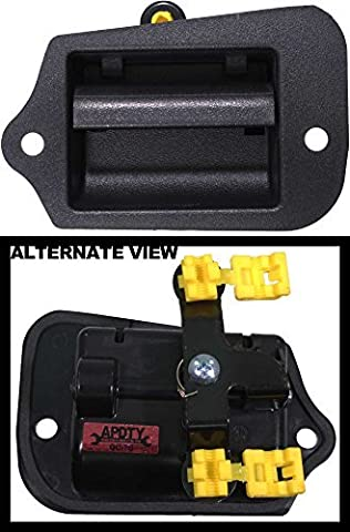 APDTY 85411 Interior Inside Door Handle Fits Rear Left 1996-2003 Chevy S10 GMC Sonoma (OE Plastic Design; Replaces GM 15760310, 19211052) by APDTY