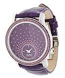 Esprit - EL101872F03 - Montre Femme - Quartz Analogique - Bracelet Cuir Violet