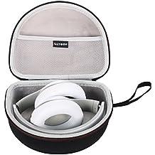LTGEM EVA Estuche duro funda Transporte de viajes Case para Beats by Dr. Dre Studio Wireless / 2.0 Wired - Auriculares de diadema cerrados (reducción de ruido)