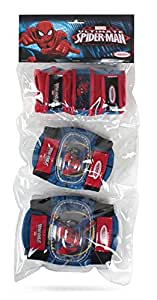 Spider Man Pads Set with Elbow, Knee and Wrist Guards