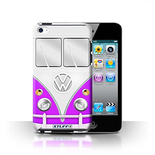 STUFF4 Phone Case / Cover for Apple iPhone 5/5S / Red Design / VW Camper Van Collection Violet