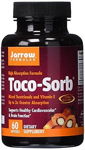 Jarrow Toco-Sorb Mixed Tocotrienols & Vitamin E (60