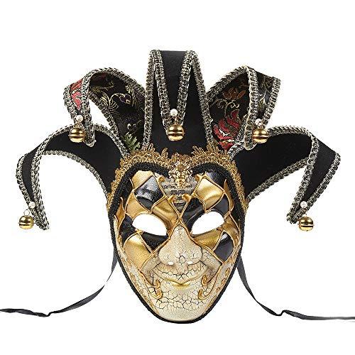 - Herren Mardi Gras Maske