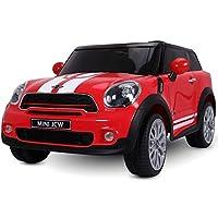 L'auto elettrica Mini Paceman 12 V per bambini, con il suo design accattivante e sportivo, vi da la possibilità di dare un tocco british all'infanzia dei vostri piccoli senza tralasciar alcun dettaglio, in particolar modo per ciò che riguarda la sicu...