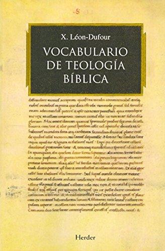 Vocabulario de teología bíblica por Xavier Léon-Dufour