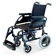Silla de ruedas plegable Breezy Premium con ruedas de 24