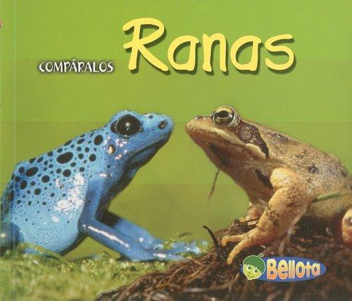 Ranas/Frogs (Comparalos/creature Comparisons) por Tracey Crawford