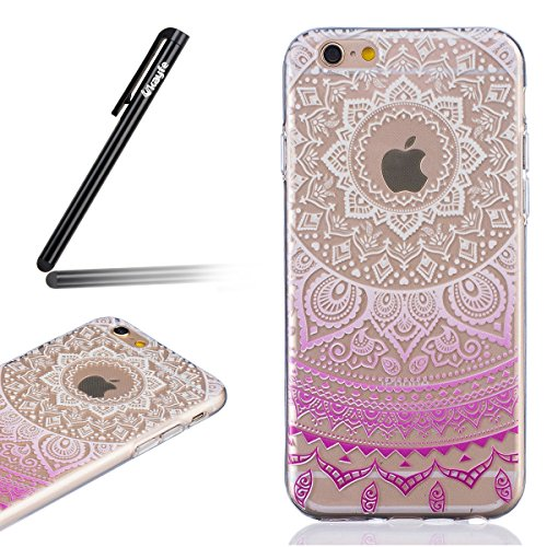 ukayfe-iphone-6-6s-47-copertura-pittura-gradiente-fiore-design-crystal-clear-shinny-scintillio-bling
