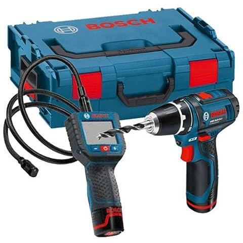 Bosch GOSGSRLBOXX GSR 10.8-2-LI Plus GSA 10.8 V-LI Kit with L-Boxx