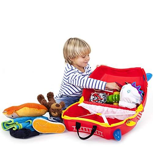 Trunki Koffer für Kinder Freddie Fire Engine - 3