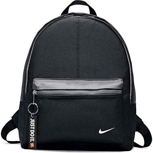 Nike Unisex - Kinder Rucksack Classic, black/dark grey/white, 25 x 10 x 32 cm, - Store Nike