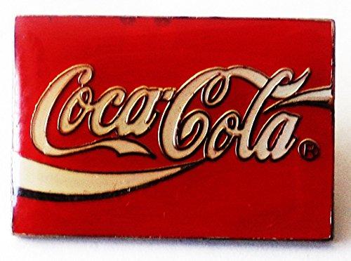 Coca Cola - Logo & Schriftzug - Pin 26 x 18 mm (Kostüme Coca Cola)