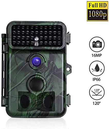 JYSXT Jagd Kamera 1080P Scouting Kamera 42PCs IR LED Spiel Kamera für Night Shot & Vision bis IP66 Wasserdichtes Design Wildlife Kamera für Wildlife Jagd und Home Security