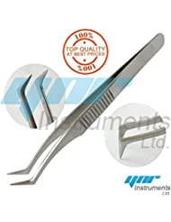 YNR Eyelash Extension Tweezers for Russian 3D 6D Volume Lash Extensions L-Type