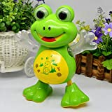 #9: Toykart Dancing Frog with Music Flashing Lights and Real Dancing Action, Multi Color